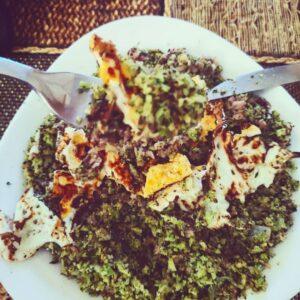 Arroz de brócoli Keto